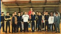 JG et l'équipe de Corée du Nord