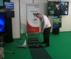jg salon du Golf avec SamPutt Lab et Golfchannel