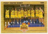 poissy Chatou Basket 1994