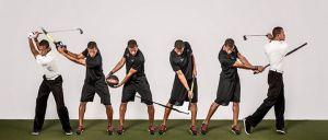 The leadbetter swing