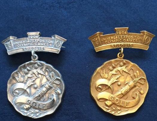 Médailles 1904 Jeux Olympiques Golf.png