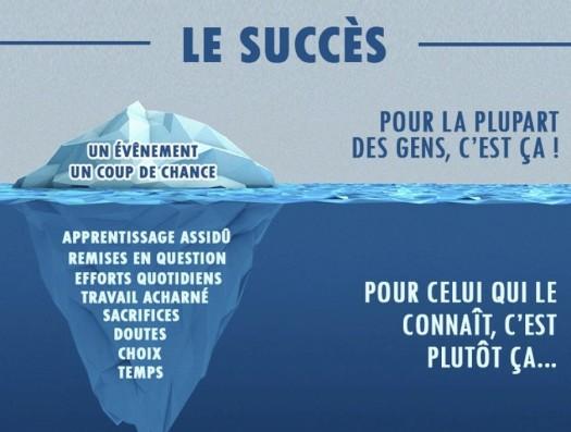 succès-iceberg